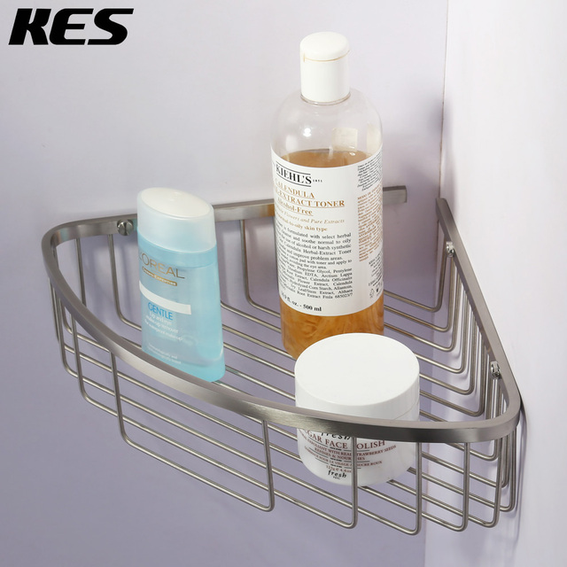 KES SUS 304 Stainless Steel Shower Caddy Corner Rustproof Bathroom ...