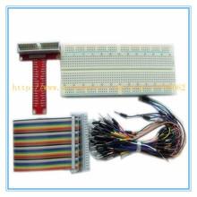 1pcs Raspberry pie Raspberry PI GPIO adapter plate gold plug-in version+ GPIO 26p+400 cable kit for arduino