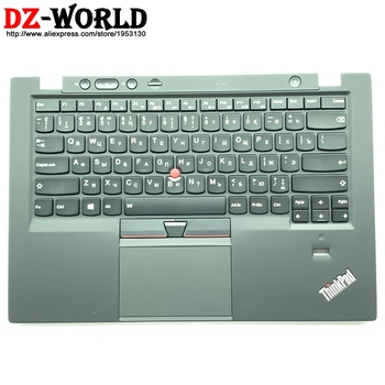 New Palmrest Upper Case With Kazakh Russian Backlit Keyboard Touchpad for Lenovo Thinkpad X1 Carbon 1st C Cover 04Y0804  00HT056