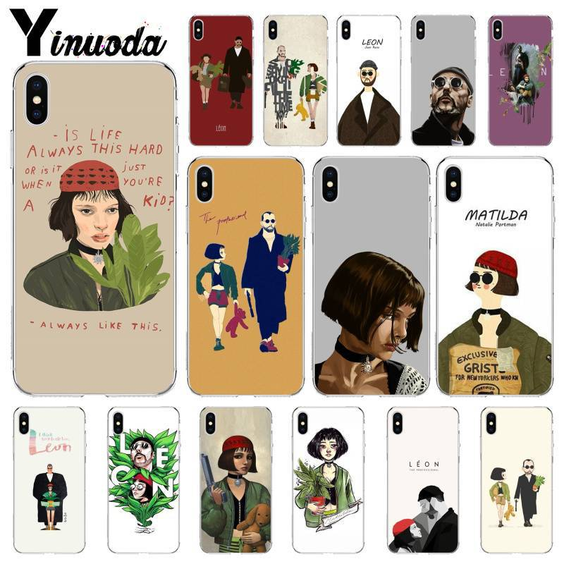 Yinuoda Leon The Professional Great Deal Light Mobile Case for Apple iPhone X XS MAX 7 6 6S Plus 5 5S SE XR Case image