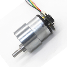 цена на DC geared motor JGB37-520 with coded Hall encoder, self-balancing dolly motor