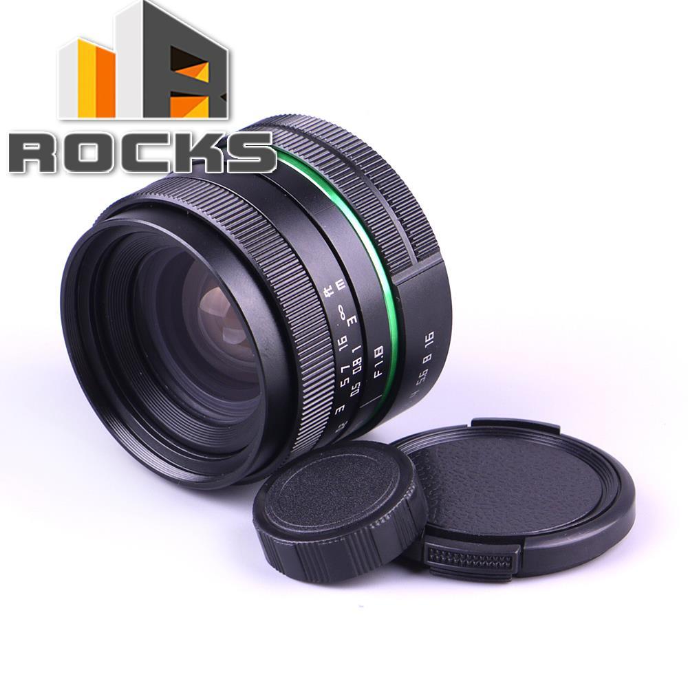 C Mount Camera 25mm F1.8 APS-C Television TV Lens/CCTV Lens Suit For 16mm C Mount Camera 25mm F1.8 Black