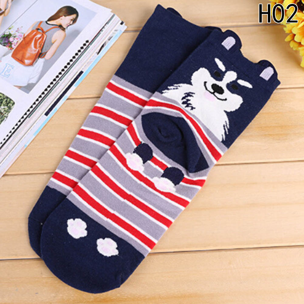 Underwear & Sleepwears Women's Socks & Hosiery 10pairs Funny Women 3d Pug Pet Dog Ankle Socks Kawaii Female Dachshund Samoyed Schnauzer Corgi Puppy Cotton Sock Wholesale High Resilience
