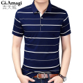 2017 New Men's Tops Polo Shirts short Sleeve Cotton Slim Classical Business Casual Men Spring summer  Polo Shirts Homme