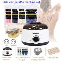 Depilatory Hot Hard Wax Beans Pellet Body Hair Removal Waxing Heater Machine Body Hair Remova WH998