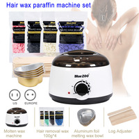 Depilatory Hot Hard Wax Beans Pellet Body Hair Removal Waxing Heater Machine Body Hair Remova WH998