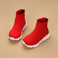 Kids Shoes JUFOYU 2018 New Children Sneakers Wild Casual Sneakers Children High To Help Socks Shoes Star Socks Casual Shoes