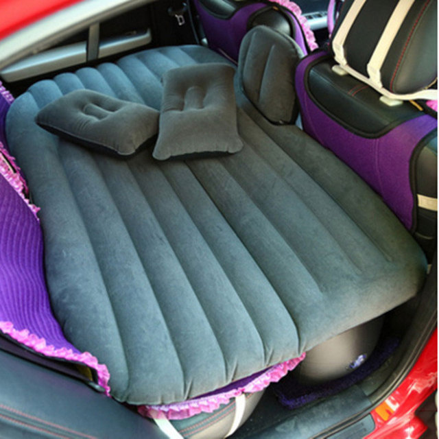 Universal Car Air Mattress Shock Outdoor Travel Inflatable Bed For