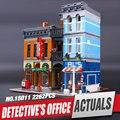 LEPIN 15011 2262 Unids Creador Ciudad Calle Detective de Oficina Modelo Kit de Construcción de Bloques de Juguete Ladrillos Compatibles 10246