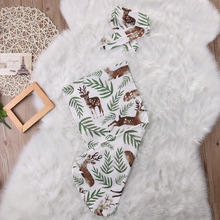 Organic Cotton Swaddle Blanket Newborn Baby Kids Wrap Sleeping Bags Sleepsack