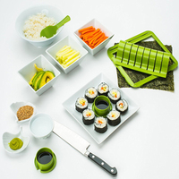 1 Satz DIY Sushi Form Reis Roller Mould Sushi Maker Set Reis Ball Maschine Sushi Küchenhelfer
