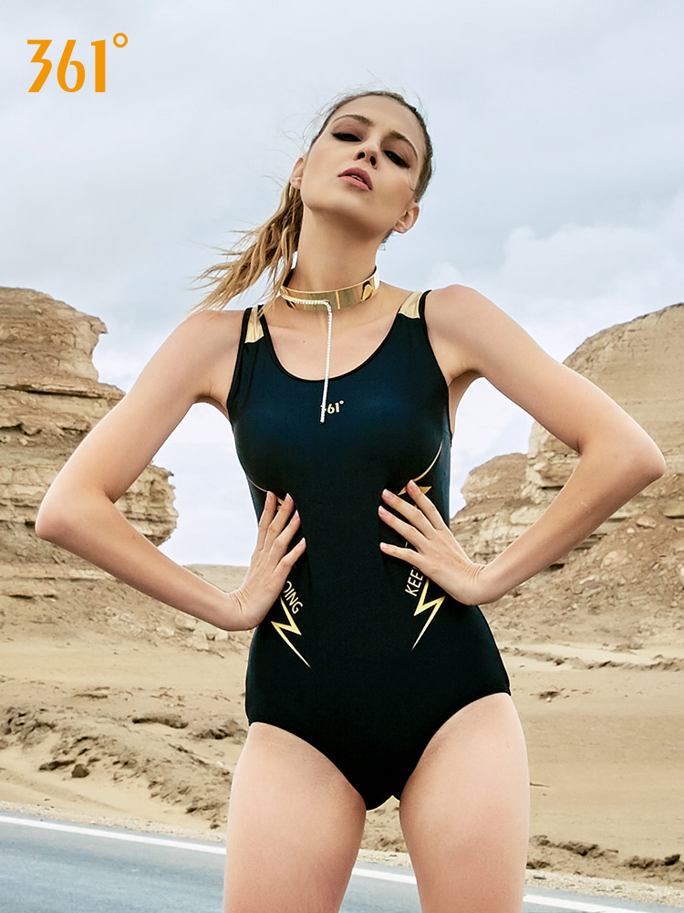 361 Women One Piece Sport Push Up Swimsuits Triangle Bandage Sexy Swimwear Women Backless Swimming Suits for Women Bathing Suits in Body Suits from Sports Entertainment