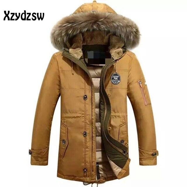 2016 hombres pato Abrigos de plumas ropa de marca Fang frío desgaste  ocasional caliente frío invierno 7a398a209312