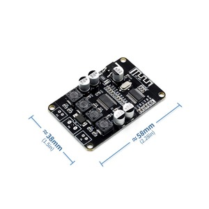Image 3 - VHM 313 TPA3110 2X15W Bluetooth Audio Power Amplifier Board Voor Bluetooth Speaker