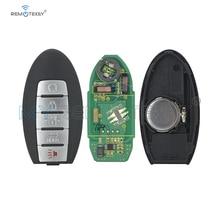 цена на Remtekey CWTWB1G744 5 button 433mhz ID46 chip for Nissan Armada Infiniti QX56 QX80 2013 2014 2015 2016 2017 2018 smart car key