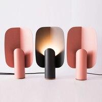 Высококачественная креативная прикроватная настольная лампа, индивидуальный выставочный зал, отель, спальня, кабинет, простой из кованого
