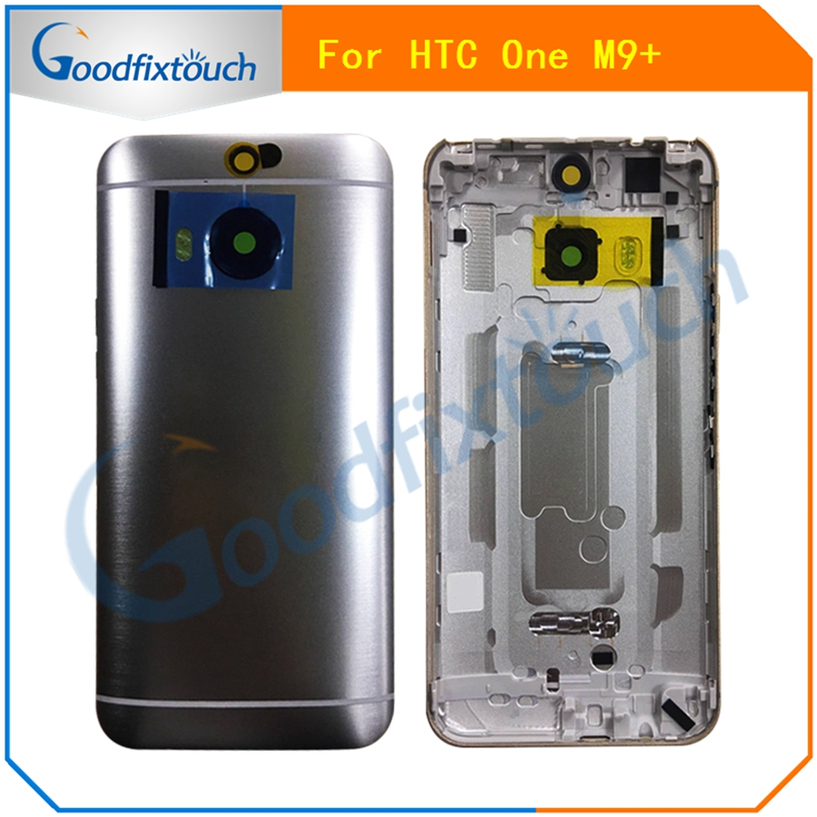 For <font><b>HTC</b></font> <font><b>One</b></font> <font><b>M9</b></font>+ <font><b>M9</b></font> Plus Back Cover <font><b>Battery</b></font> Door Rear Housing <font><b>Case</b></font> With Side Buttons +top cover+Sim/SD Tray Replacement Parts 5.2 image