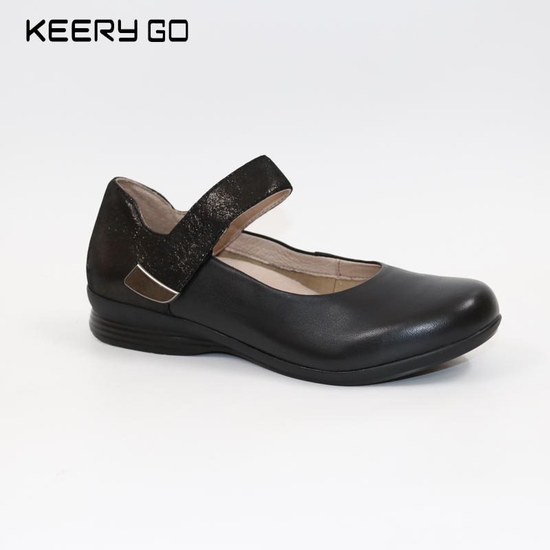Classic high-end leather comfort shoes, health shoes konkord classic comfort 140x195x18