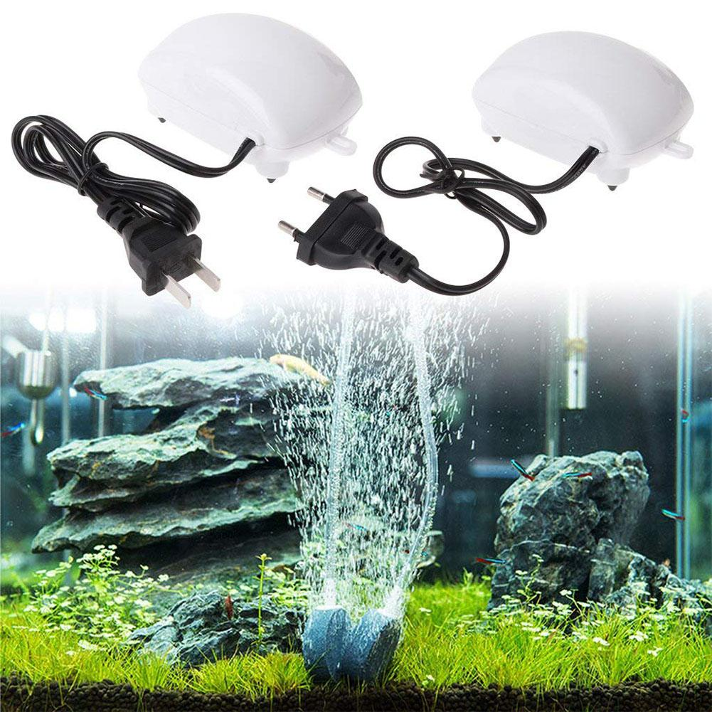 Ultra Low Noise Aquarium Air Pump Fish Tank Mini Air Compressor Oxygen Pump Aquarium Fish Tank Oxygen Pump
