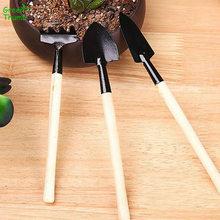 15 комплектов садовые инструменты растения мини копать грунт рыхая Лопата Скорпион грабли деревянная ручка свет легко носить для Гаден бонсай