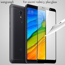 купить 2pcs Glass for Xiaomi Redmi  5 5 Plus Screen Protector Tempered Glass for Xiaomi Redmi 5a Glass Redmi note5a Protective Film онлайн