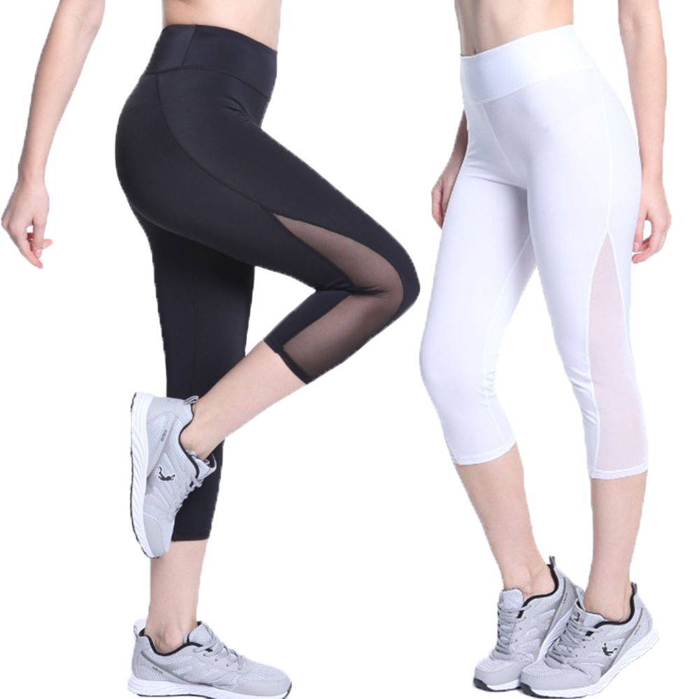 Popular White Running Capris-Buy Cheap White Running Capris lots ...