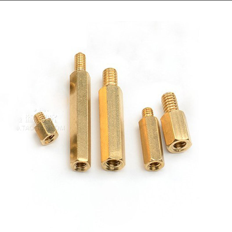 Speaker Hex Copper Column M4 Single Head Copper Column PCB Motherboard Screw Chassis Isolation Copper Column in Connectors from Lights Lighting