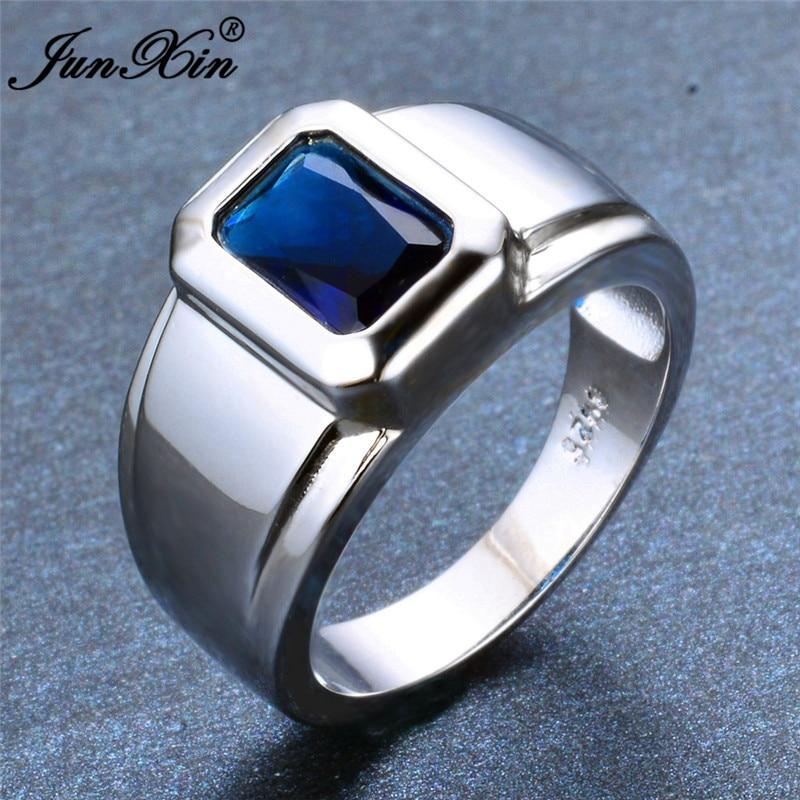 Simple Male Blue Geometric...