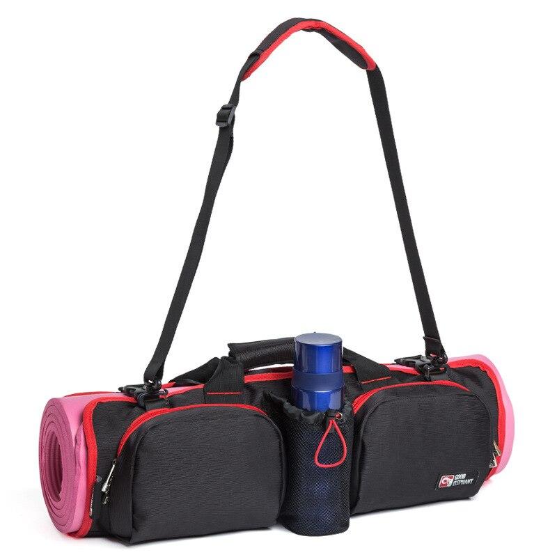 Bolsa de Esportes para Mulheres Bolsas de Yoga Bolsa de Ginásio Bolsas de Ombro das Senhoras do Sexo Grandes Yoga Esteira Chaleira Armazenamento Portátil Feminino Fitness Bolsa Hab505