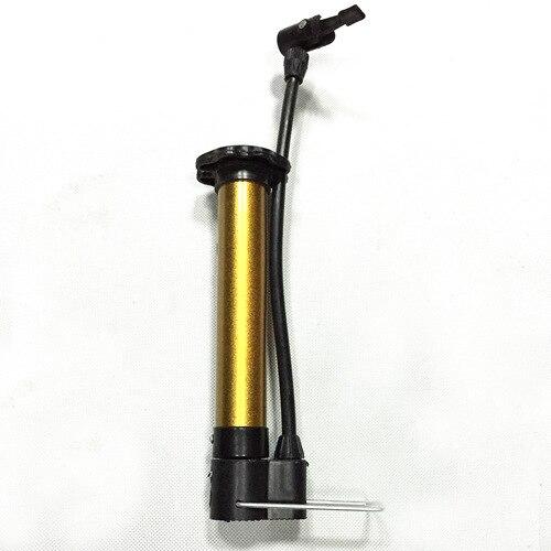 Portable Basketball Hand Pump Mini Football Air Pump Metal