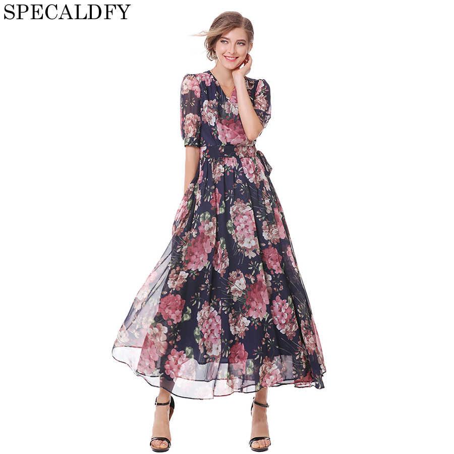 3d2049a5159 2018 летнее Пляжное Платье женское с v-образным вырезом сексуальное See  Through цветочный принт винтажные