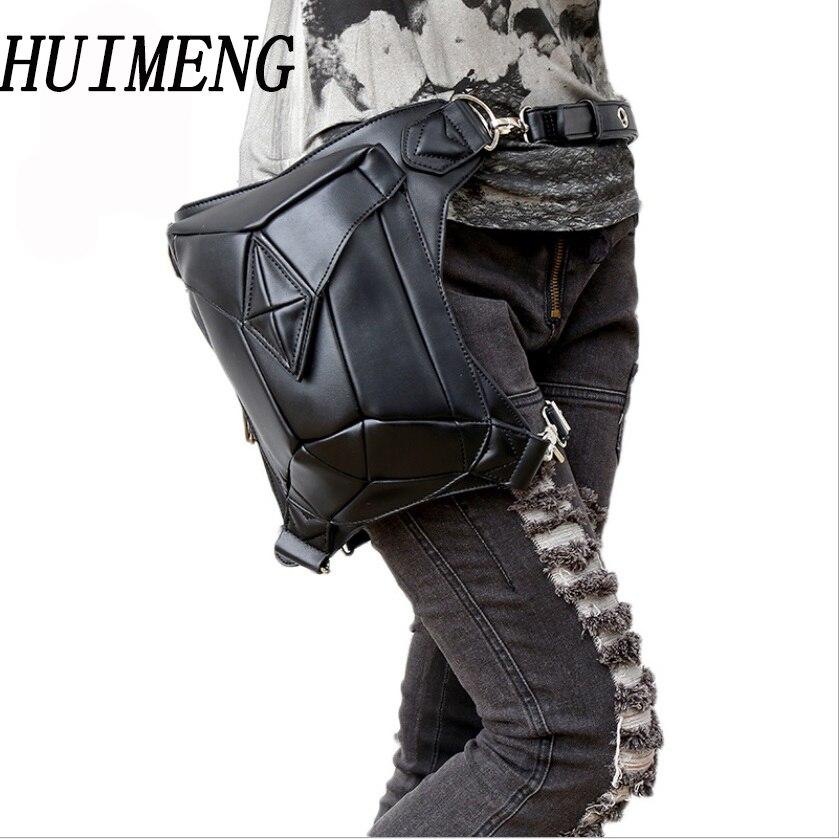 HUIMENG NEW Men Waist Pack Leg Bag Waterproof Waistpack Motorcycle Fanny Pack Drop Belt Pouch Fanny Pack Waist Belt Bag stock цена