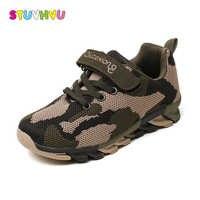 Venda quente tênis de corrida para meninos meninas sapatilha formadores esportes casuais crianças sapatos respirável ao ar livre tênis caminhada