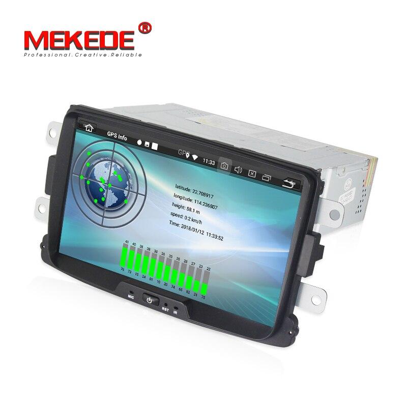 Android 8.0 Voiture stéréo autoradio navigation GPS NAVI lecteur DVD pour Renault/Duster/Logan 2/Dacia /Sandero/Dokker/Lodgy/Lada/Xray