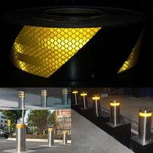50 мм x 5 м светоотражающие велосипедные наклейки клейкая лента