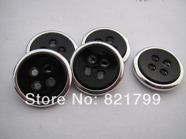 23mm plastic button for coat fashion 4 holes button suits button polo