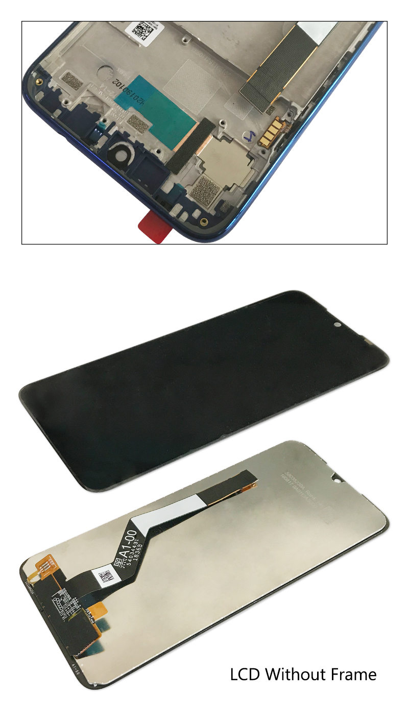 10-Touch Original LCD For Xiaomi Redmi Note 7 LCD With Frame Display Screen Replacement For Redmi Note7 Pro LCD Display Screen