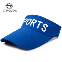 99c84683876a8 Outdoor Sports Breathable Empty Top Summer Golf Visor Hat Baseball Cap 2018  New Quick-Drying