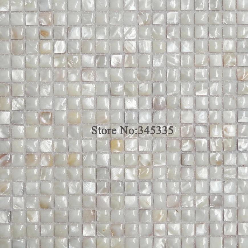 Weiss 3d Fluss Shell Mosaik Fliesen Perlmutt Tapete Kuche Dusche Fliesen Badezimmer Innenwand Fliesen Heimwerker Home Improvement 3d 3d3d Mosaic Wallpapers Aliexpress