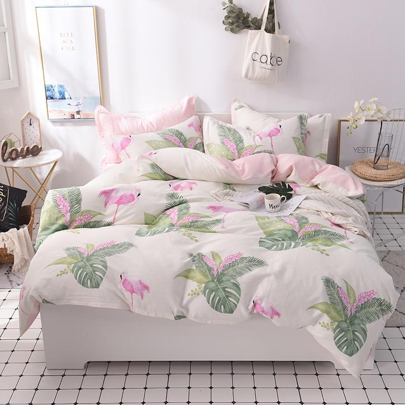 100 cotton kids girls bedding set bed set twin queen king size bed sheet fit sheet set duvet. Black Bedroom Furniture Sets. Home Design Ideas