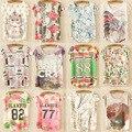 Un Tamaño Nueva Fashion2016 Verano Mujeres de la Impresión de la Historieta, Floral, Carta y 20 Estilos de la Manga Del Batwing Flojo Ocasional de las Camisetas Tops