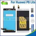 1 шт. Для Huawei p8 lite жк-дисплей с сенсорным экраном дигитайзер ассамблеи замена + инструменты