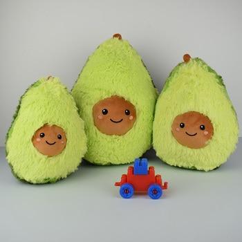 Avocado Fruits Cute Plush Toys Stuffed Dolls Cushion Pillow For Kids Children Christmas Gift Girls Baby Girls Squishy New Year іграшка авокадо купити україна
