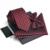 Hihg Calidad de Tres piezas Conjunto Corbata Gravata corbatas Jacquard Tejido Pañuelo Lazos Bowtie Casamento Gravata Delgada Al Por Mayor