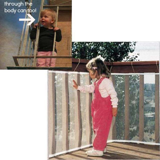 Valla de Seguridad del bebé niños Engrosamiento Proteger Neta Balcón Valla Niño Valla de Seguridad Del Bebé Red de Seguridad Infantil de Seguridad Del Producto