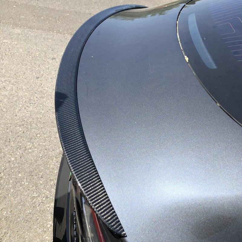 Para Tesla Model 3 2017-2020 asa traseira spoiler, fibra de carbono Trunk Bota spoiler Wings 3 M colóide de instalação