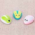 Free Shipping Cute Rabbit 6 LED Night Light Room Sleep Light Sensor Voice control Lamp Hot Sales