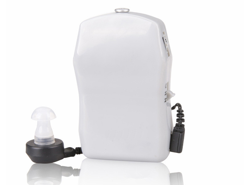 ФОТО mini size hearing aids Pocket Hearing Aid Deaf Aid Sound Audiphone Voice Amplifier digital X-136