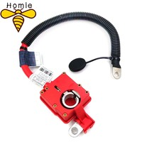 Yeni kırmızı pozitif akü kablosu artı kutup 61129217004 9217004 BMW için X5 X6 E70 E71 2007 2008 2009 2010 2011 2012 2013 2014