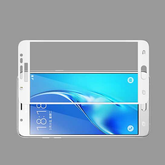 غطاء كامل ثلاثي الأبعاد من الزجاج المقسى لهاتف سامسونج J2 J5 J7 Prime Duo واقي للشاشة